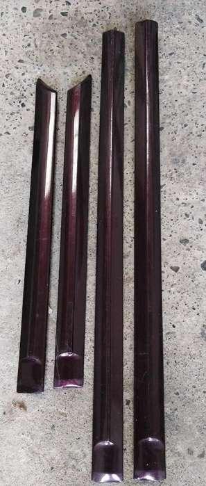 Molduras Laterales de Kia Río Stylus