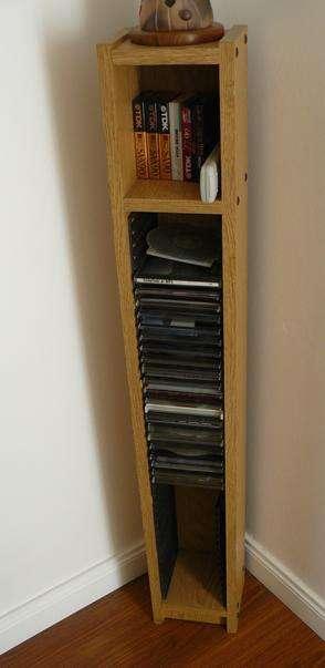Mueble Torre para CDs - (Se retira x BELGRANO, C.F.)