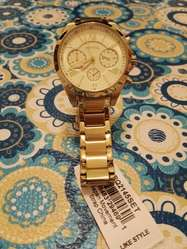 ec0dfa20f223 Reloj FOSSIL Dorado Mujer Modelo BQ2145SET Reloj FOSSIL Dorado Mujer Modelo  BQ2145SET ...