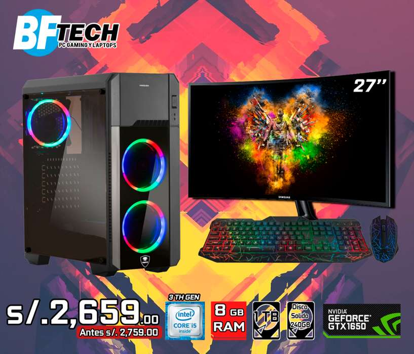 PC GAMING INTEL CORE I5 3TH GEN 5