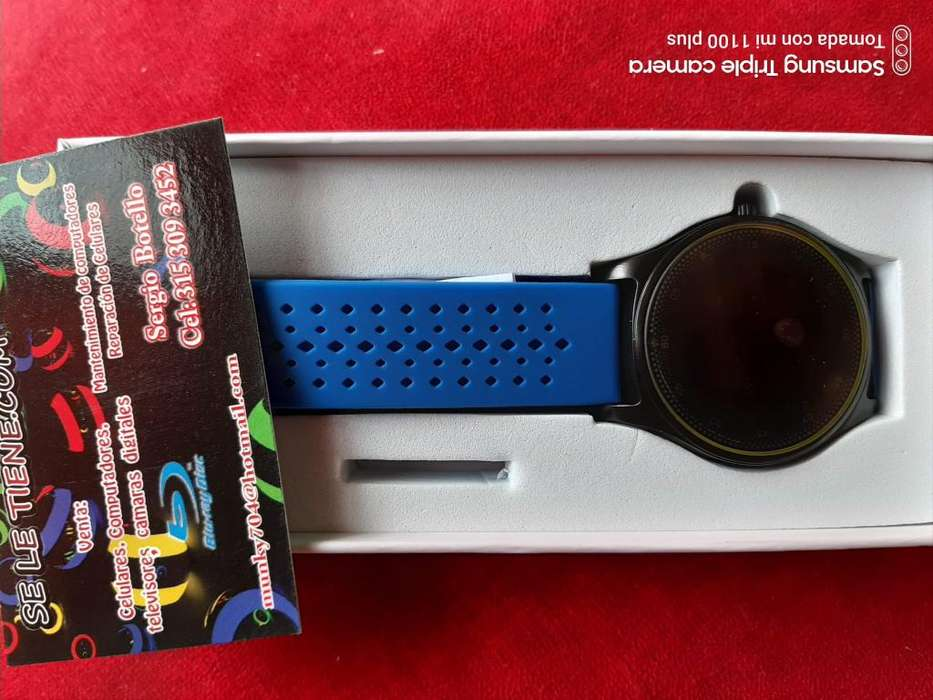 smartwatch llamadas tactil micro sd sim card