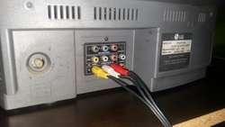 Televisor Lg 21 Pulgadas con Control