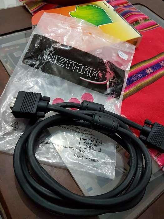 Cable Vga Nuevo