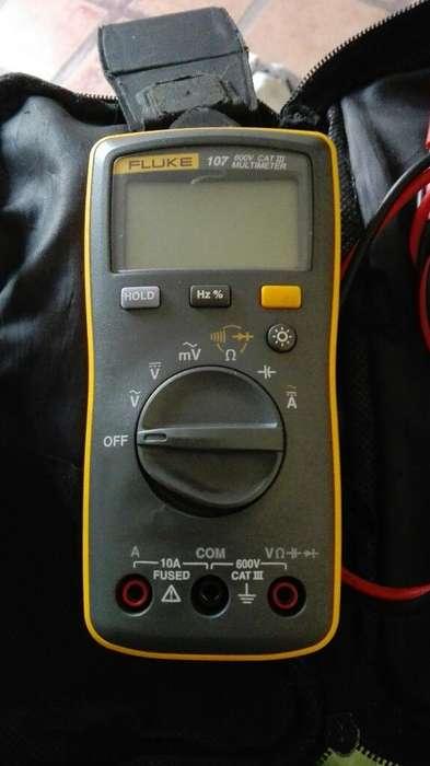 Multimetro Tester Digital Fluke 107 600v