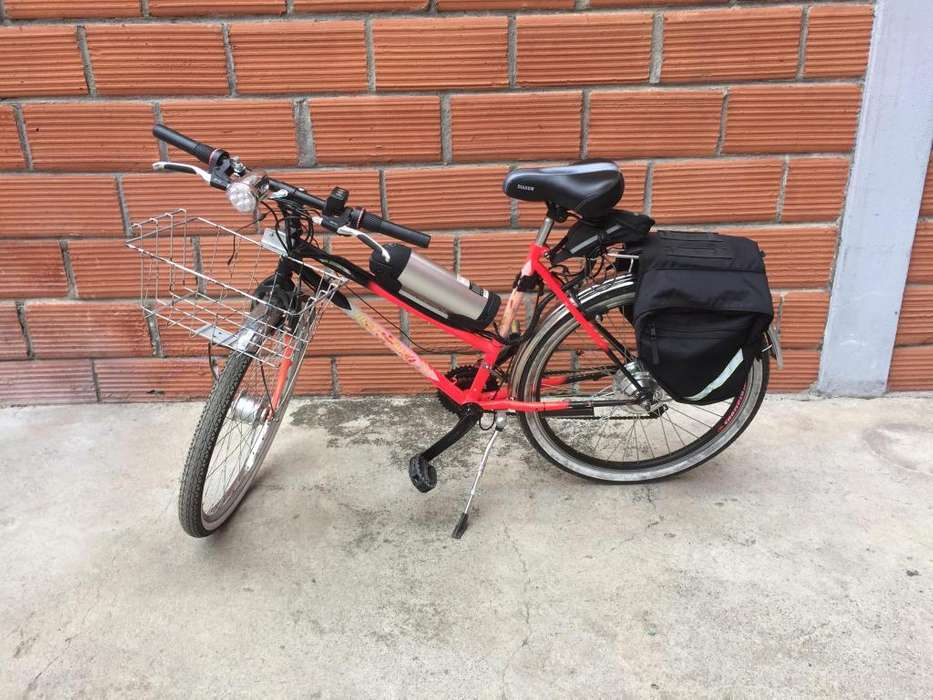 Bicicleta Eléctrica Usada Acelerador De Pulgar Y Pedaleo