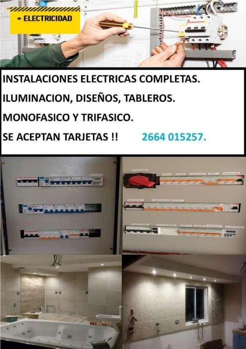 Trabajos de electricidad seguridad wi fi