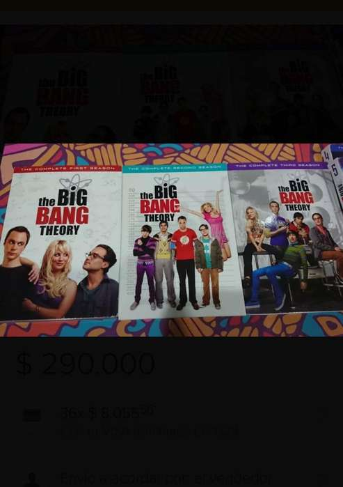 The Big Bang Theory Temporadas 1-9