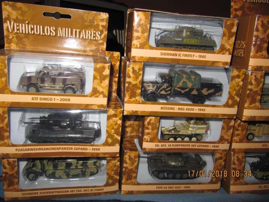 coleccion del comercio vehículos militares