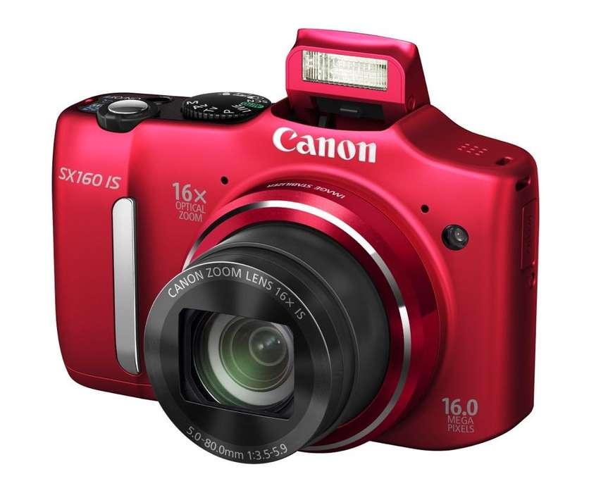 Canon Sx160 Roja
