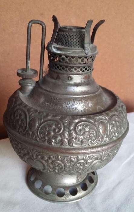 Lampara antigua miller a kerosen