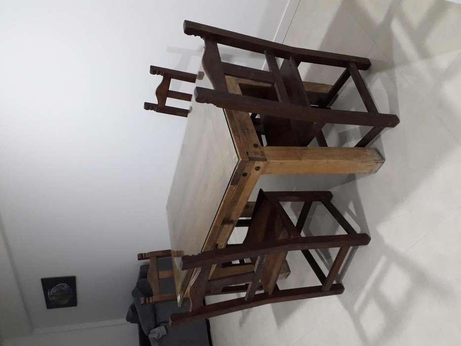 <strong>juego</strong> mesa sillas