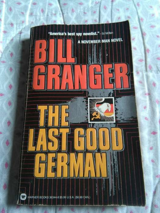 The Last Good German Bill Granger Novela en idioma ingles