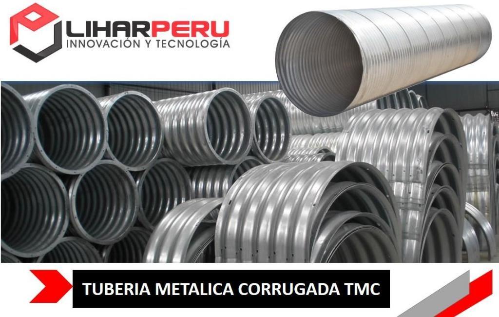 VENTA DE TUBERIA CORRUGADA ALCANTARILLA TMC . CON CERTIFICADOS DE CALIDAD Y GARANTIA CEL 922 446 273