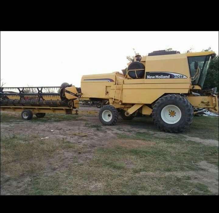<strong>cosechadora</strong> de Granos New Holland Tc 59