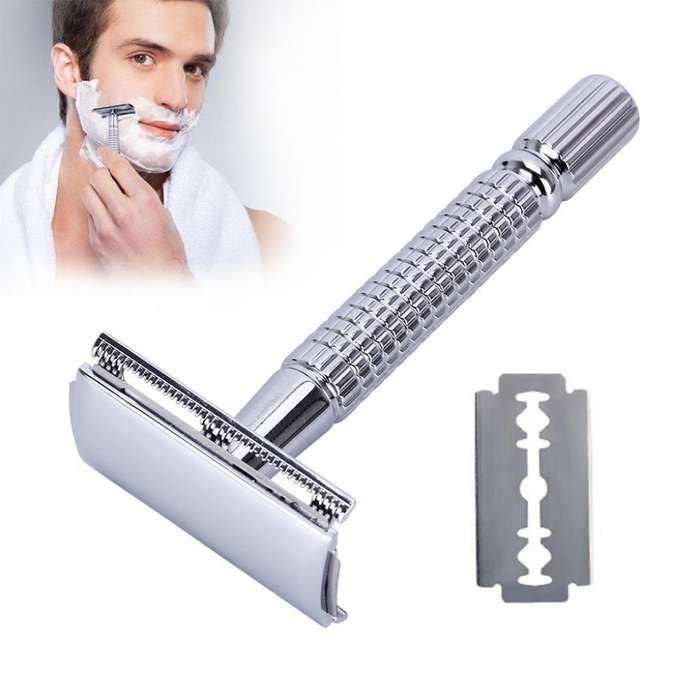 Maquina de Afeitar en Acero Inoxidable