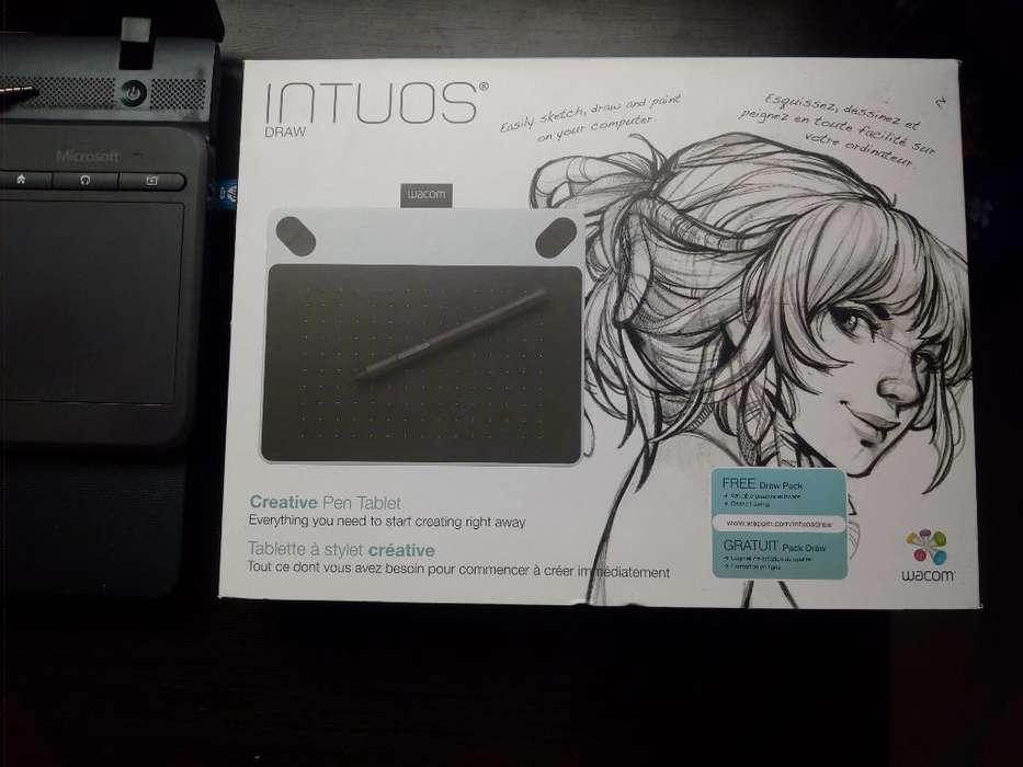 Tableta Graficadora Intuos Draw Ctl490dw