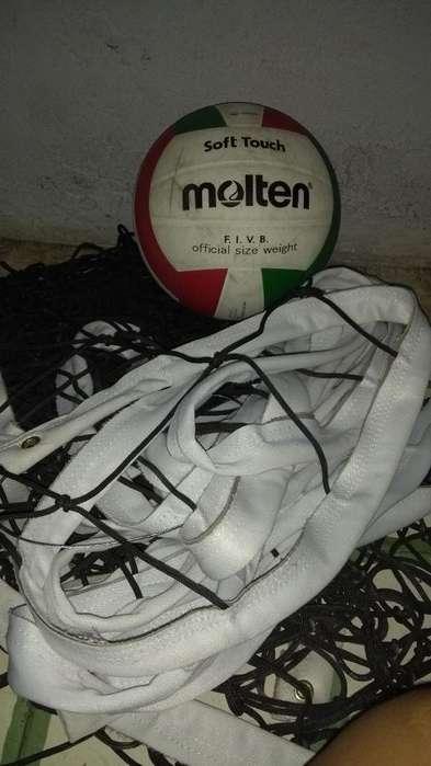 Vendo Malla Y Balon de Voleibol