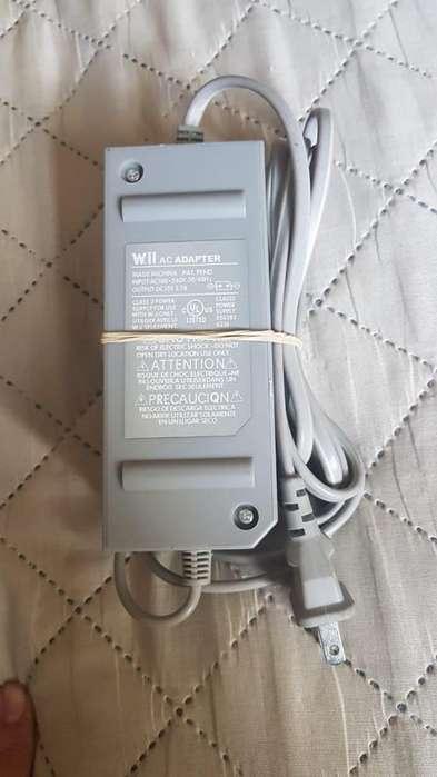 Cargador fuente de poder Corriente electrica Nintendo Wii NUEVO