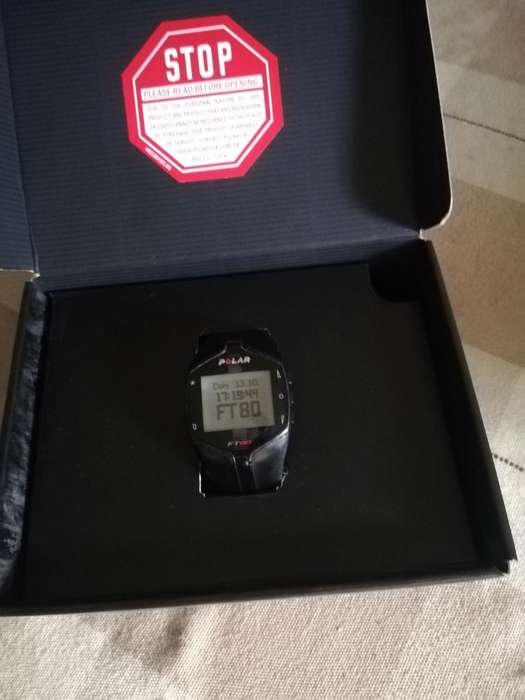 Vendo Reloj Polar Ft80. Buen Estado.