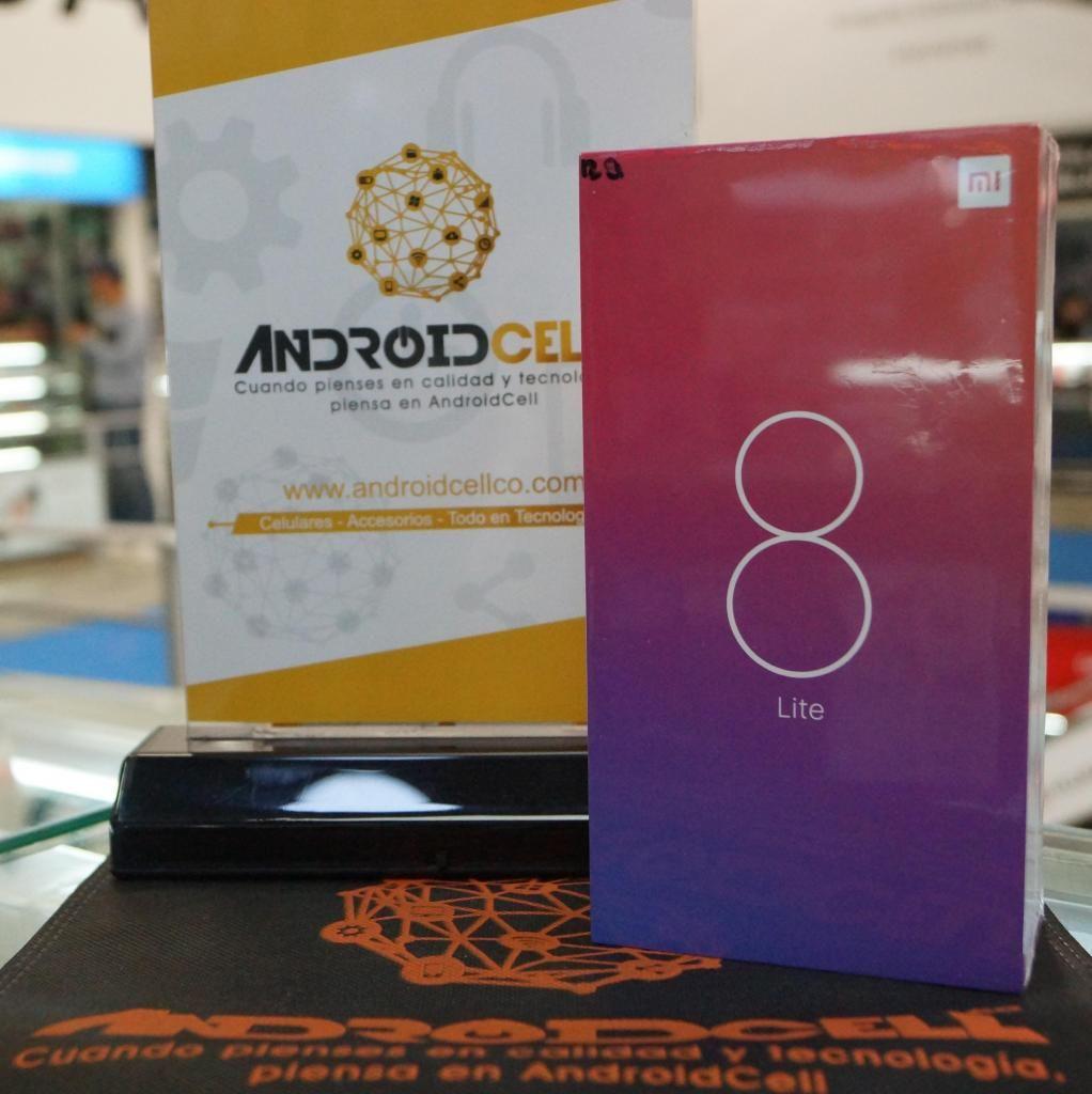 Xiaomi Mi 8 Lite 128GB - Nuevo, libre, original y garantizado-Domicilio sin costo en Bogotá.