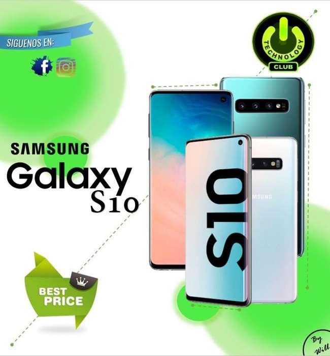 Cyber WOW dispositivo todo pantalla S10 Samsung Celulares sellados Garantia 12 meses / Tienda fisica centro de Trujillo