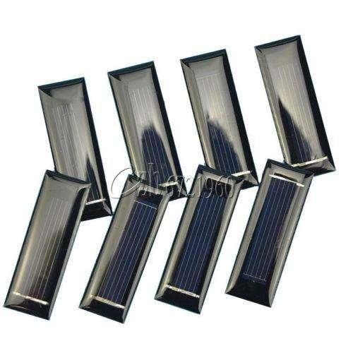 0.5V 100mA Mini panel solar células solares paneles fotovoltaicos Cargador De Batería