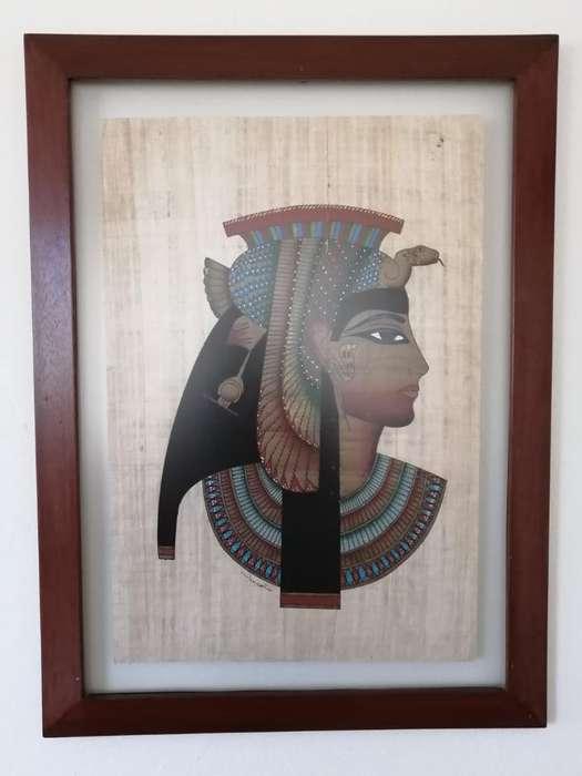 Papiros Enmarcados Marco de Madera