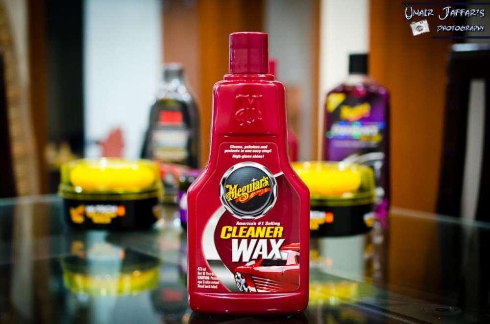 Cera Limpiadora Meguiar's Cleaner Wax