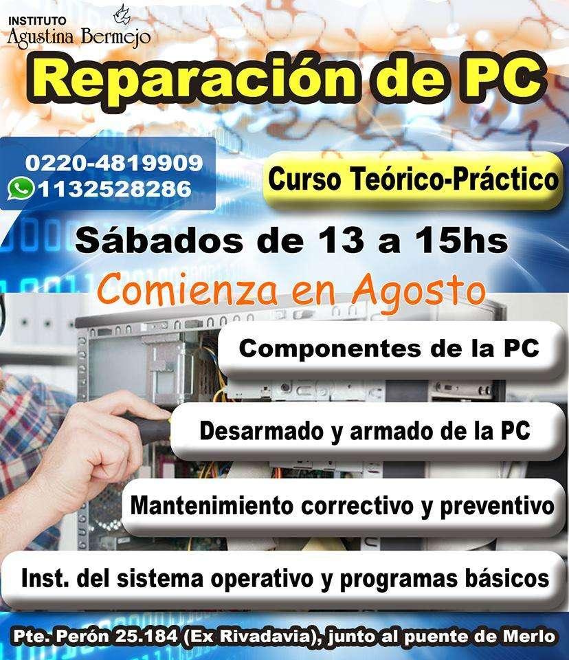 REPARACIÓN DE PC- Curso- Instituto Agustina Bermejo