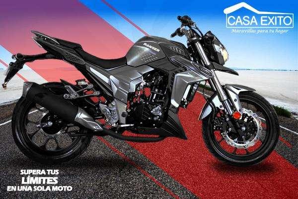 Moto Ranger Ckr300 Año 2019 300cc Color Rojo / Negro / Azul Casa Éxito