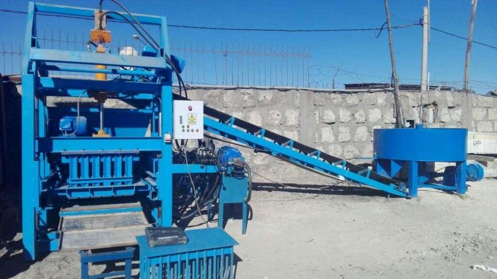 Vendo Bloquetera Industrial