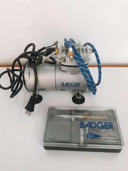 Compresora Aerografo para Pintar