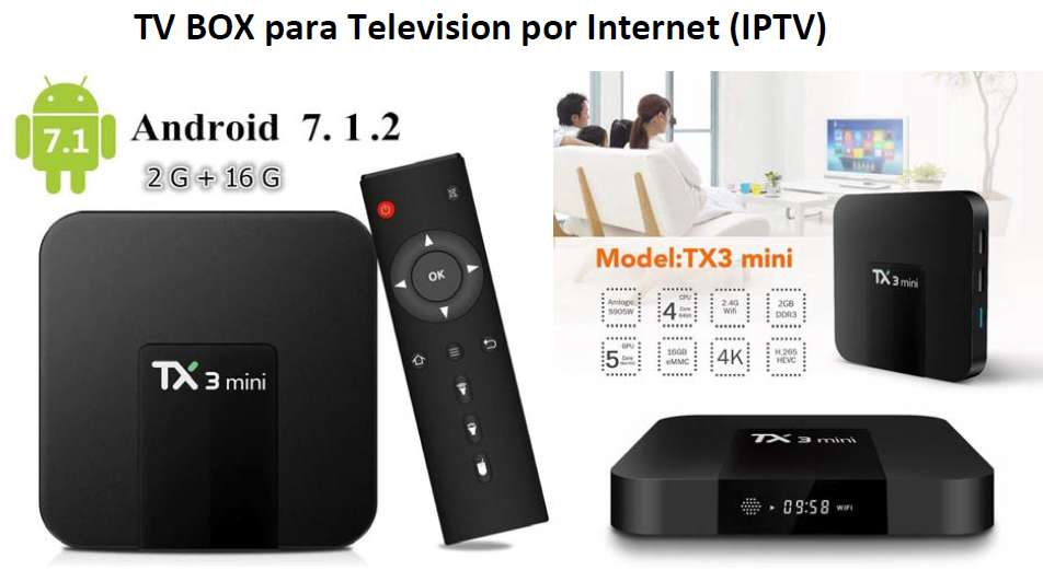 TVBOX TX3 MINI 2GB RAM 16GB ROM ANDROID 7.1
