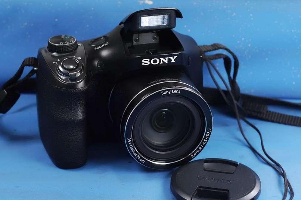 Camara digital SONY H300 : 20 megas, <strong>video</strong> HD , 35X zoom opt