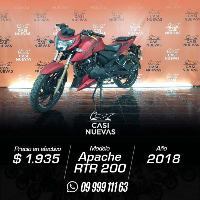 Motocicleta TVS Apache RTR 200