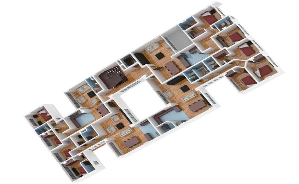 La Floresta, departamento en venta, 2 habitaciones, 86 m2