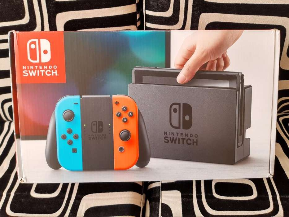 Nintendo Switch Nueva Sellada Garantia