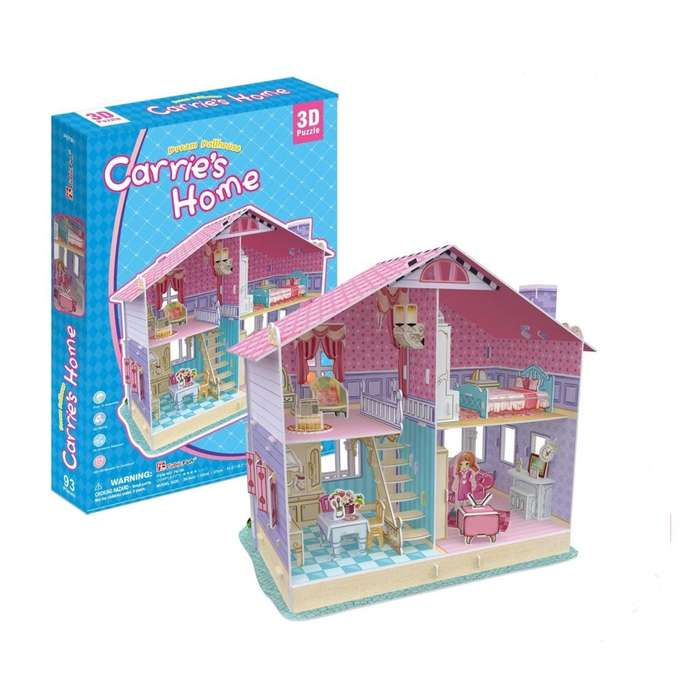 Rompecabezas 3d Carrie's Home P679h