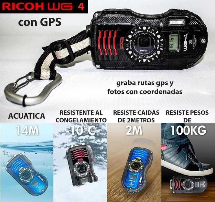 De venta Camara Ricoh WG4GPS