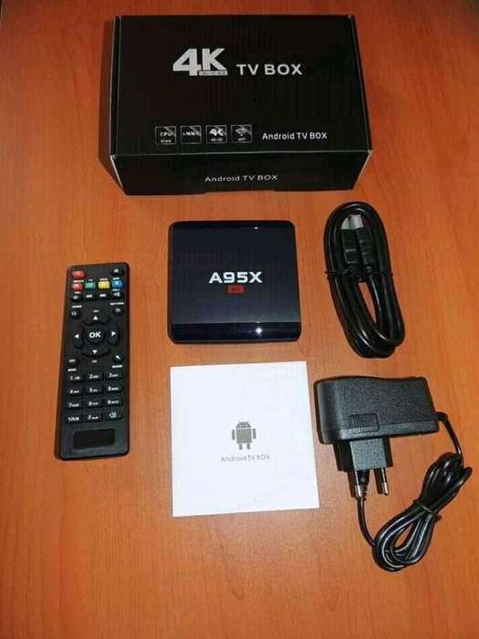 Tv Box 4k 2ram / 16 Memoria Interna