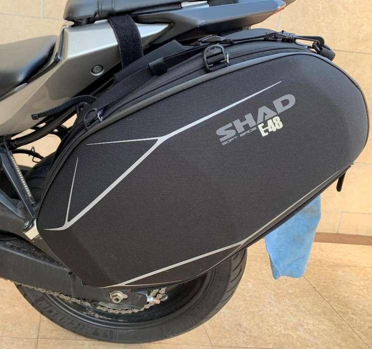 Maletas Laterales más soporte Yamaha MT 03 <strong>nueva</strong>s