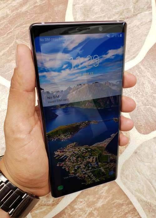 Samsung Galaxy Note 9 128gb de Memoria