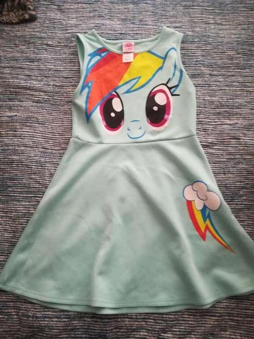 Vestido Mi Pequeña Pony