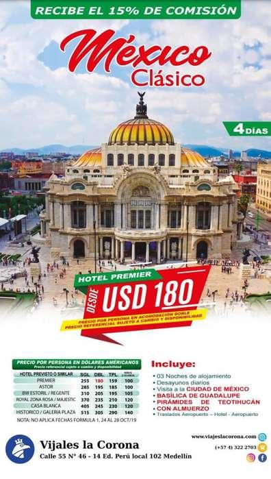 Viaje como un Rey a México Clásico con Viajes la Corona