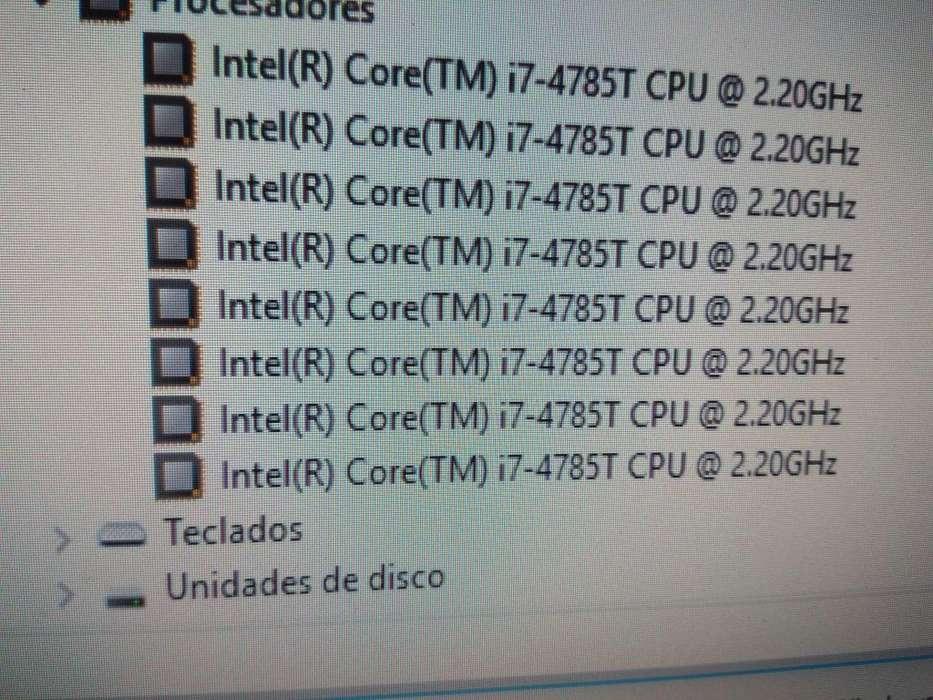 Vendo torre Hp Mini core i7