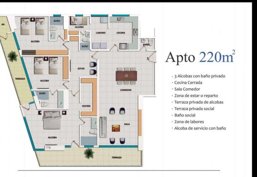 Se vende Apartamento En Barrio Los Cocos - wasi_1134584