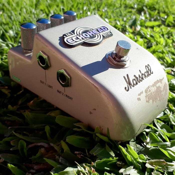 Pedal Delay Marshall Echohead Guitarra