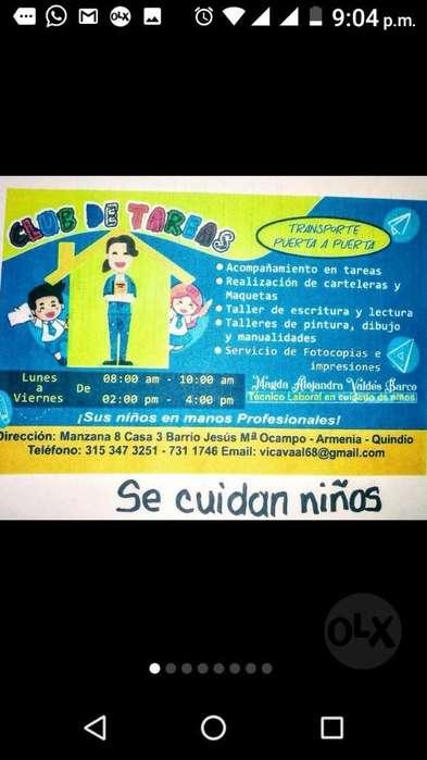 Club de Tareas Niños Y Niñas Primaria