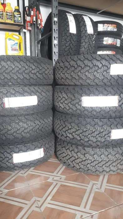LLANTAS 255/70 R16 GENERAL GRABBER AT2