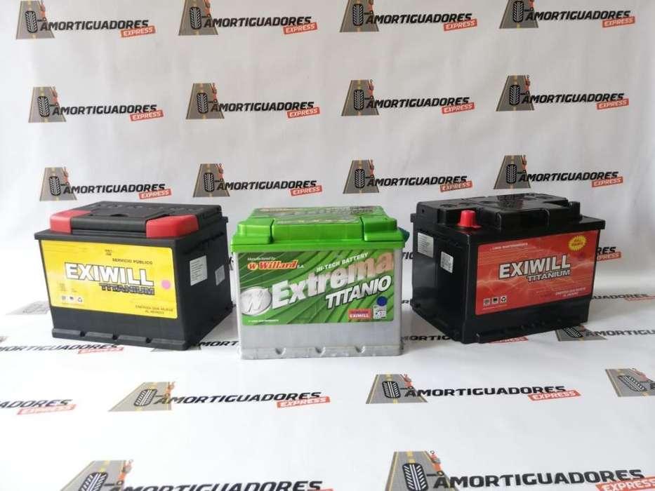 Baterias para Autos Exiwill y Willard - Amotiguares Express